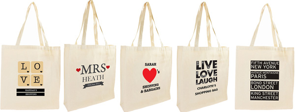 Personalised Mrs Cotton Tote Bag - Mrs Gift Idea