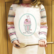 Personalised Kids Cupcake Apron