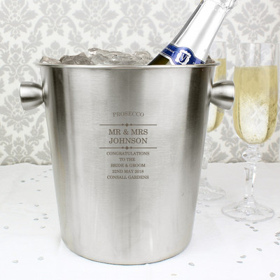 Personalised Prosecco Bucket