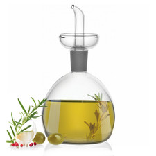Oil and Vinegar Bottle with Pourer