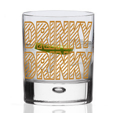 Drinky Drinky Gin Glass Tumbler