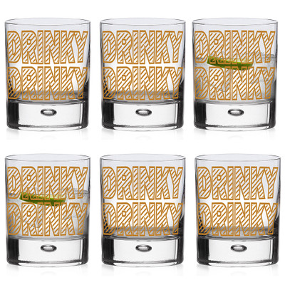 Set of six Whiskey Glasses