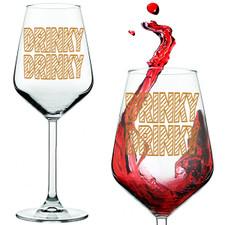 Drinky Drinky Red Wine Glass