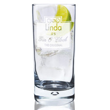 Personalised Gin And Tonic Glass