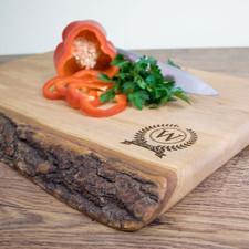 Rustic Welsh Ash Chopping Board