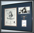 "1st Lt. Urban ""Ben"" Drew (autographed by Maj. Ben Drew) ~ Free Shipping"