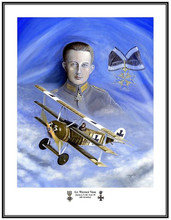 lt werner voss by l ortega free shipping lonnie ortega aviation art. Black Bedroom Furniture Sets. Home Design Ideas