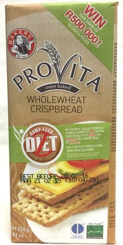 Bakers Provita Wholewheat