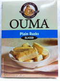 Ouma rusks plain sliced