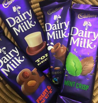 Cadbury Slab Mint Crisp