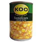 Koo Cream Sweet Corn 415g