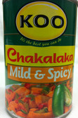 koo chakalaka mild spicy
