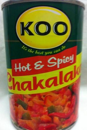 Koo chakalaka hot and spicy