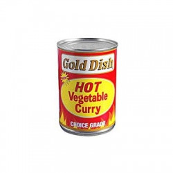 gold dish hot curry vegetable