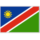 Self Adhesive Stickers Namibian Flag (9cm x 6cm)