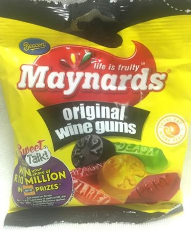 Maynards Wine Gums 125g Bag