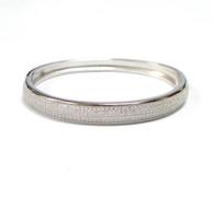 925 Silver Cubic Zirconia Bangle
