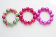 Colored Jade Bracelet
