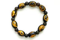 Black Onyx Yin Yang Bracelet