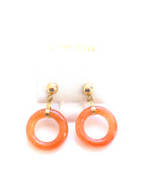 14k Gold Doughnut Stud Earrings