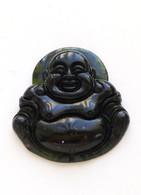 Black Jade Buddha Pendant