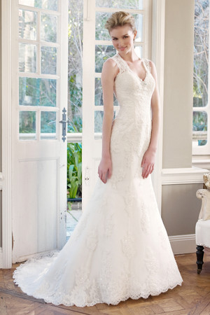 Lace Slim A-line Wedding Dress