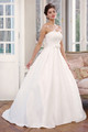 Satin Ball Gown Wedding Dress