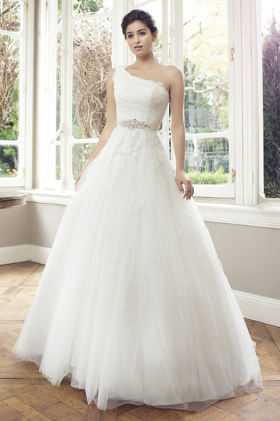 Tulle Ball Gown Wedding Dress - Adriana