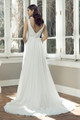 Chiffon A-line Wedding Dress - Aspen