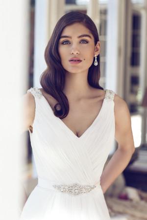 Chiffon A-line Wedding Dress - Aspen