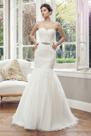 Tulle Mermaid Wedding Dress - Astin
