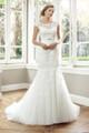 Tulle Slim A-line Wedding Dress - Amalie