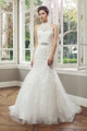 Tulle Slim A-line Wedding Dress - Angelique