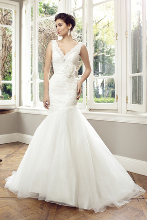 Tulle Mermaid Wedding Dress - Avery