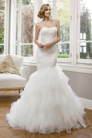 Organza Mermaid Wedding Dress - Ashland