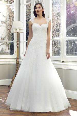 Tulle A-line Wedding Dress - Annika