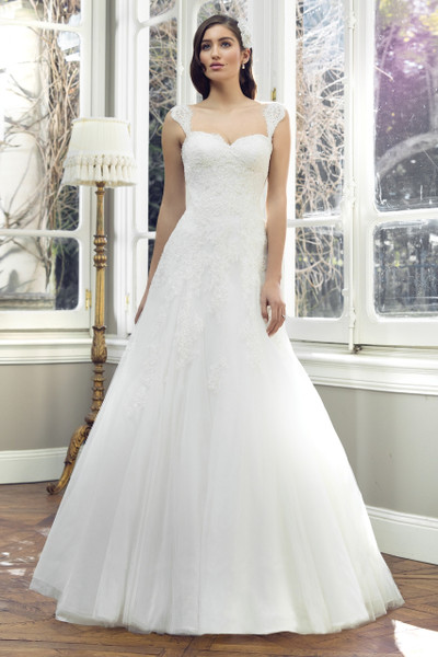 Tulle A-line Wedding Dress - Annika