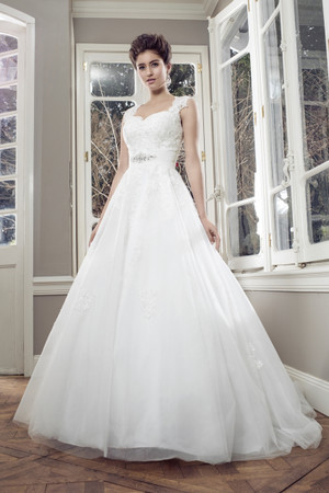 Tulle Ball Gown Wedding Dress - Autumn