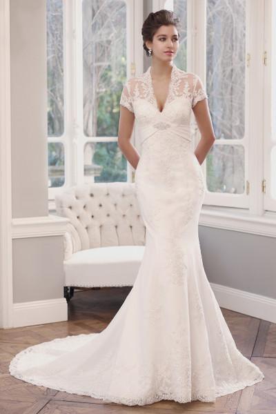 Lace Slim A-line Wedding Dress