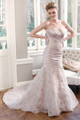 Satin Mermaid Wedding Dress