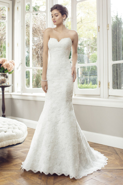 Bridal Tulle Slim A-line Wedding Dress