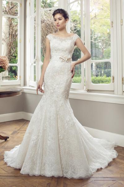 Lace Mermaid Wedding Dress - Alyce