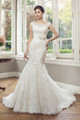 Lace Mermaid Wedding Dress - Alyce