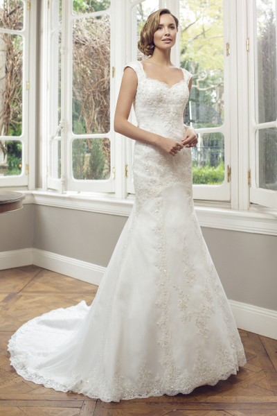 Tulle Slim A-line Wedding Dress - Alice