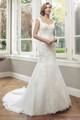 Tulle Slim A-line Wedding Dress - Alice