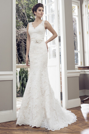 Tulle Slim A-line Wedding Dress - Amor