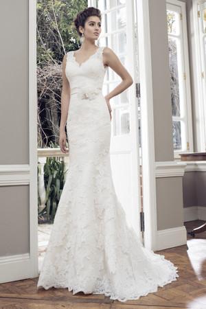 Tulle Slim A-line Wedding Dress - Amor