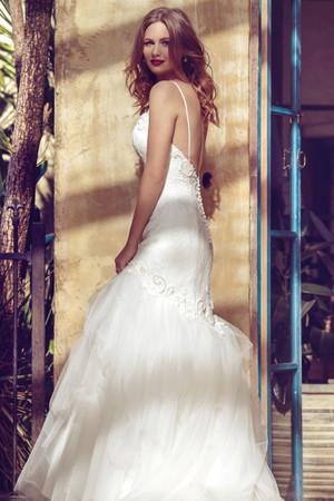 Tulle Mermaid Wedding Dress - Brylee