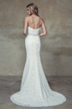 Lace Slim A-line Wedding Dress - Brighton