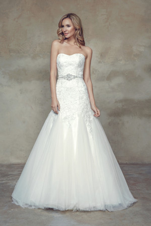 Tulle A-line Wedding Dress - Belinda